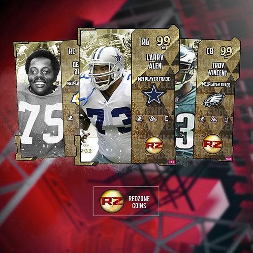 98 - 99 OVR Ultimate Legends Players - Madden 21 Ultimate Team