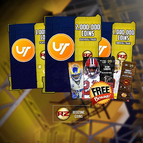 1 Million Coins Quicksells +  FREE Random 99 OVR - Madden 21 Ultimate Team Coins