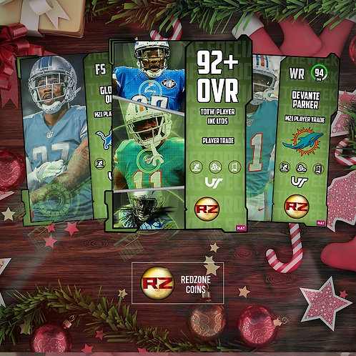 92+ OVR TOTW Player Inc. Ltds #RZ Rush -  Madden 21 Ultimate T