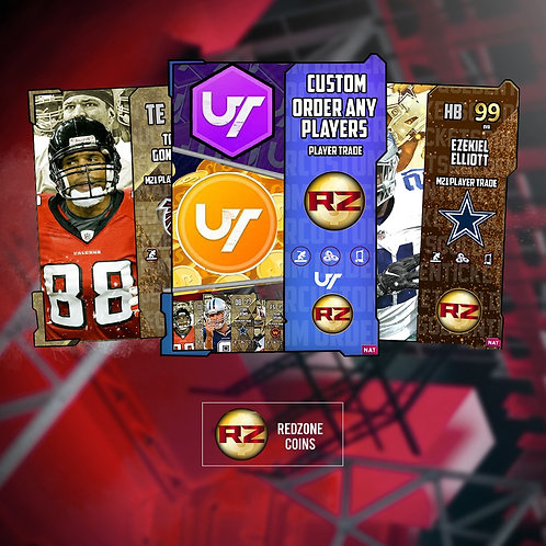 Red Zone Coins Custom Order-   Madden 21 Ultimate Team