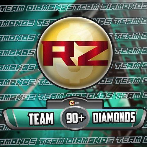 90+ OVR Team Diamond Players - Madden 22 Ultimate Team