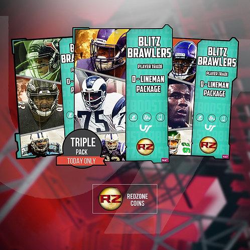 Blitz Brawlers Three  Player Bundle - Madden 21 Ultimate Team