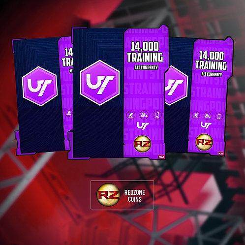 14,000 Training Points #RockinRZ  -  Madden 21 Ultimate Team Currency