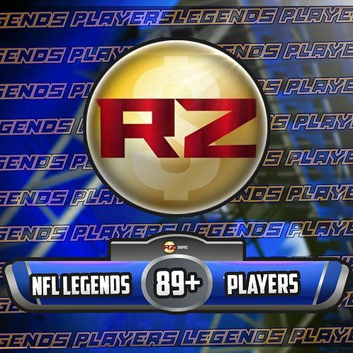 89+ OVR NFL Legends Players - Madden 22 Ultimate Team