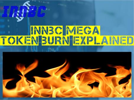 INNBC MEGA TOKEN BURN EXPLAINED