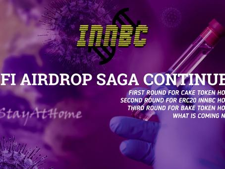 INNBC defi Airdrop Saga Continues...
