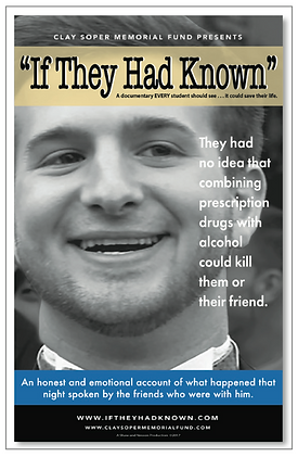 Clay Soper Memorial Fund Documentary, Mixing Prescription Drugs (Xanax) With Alcohol, Accidental Death College Student Winchester, If They Had Known Documentary, Party Culture Risks Xanax Alcohol