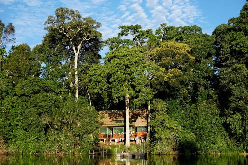 Cocha Cashu Biological Station, Manu National Park, Peru. Photo: Jessica Groenendijk