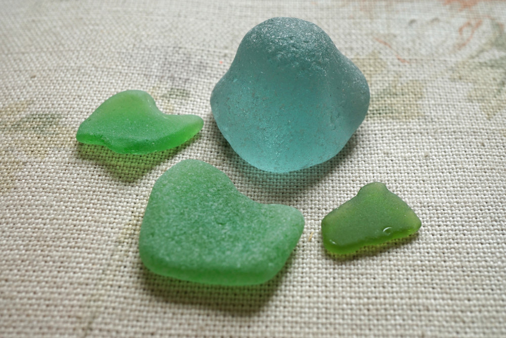 Sea glass. Photo: Jessica Groenendijk, Words from the Wild