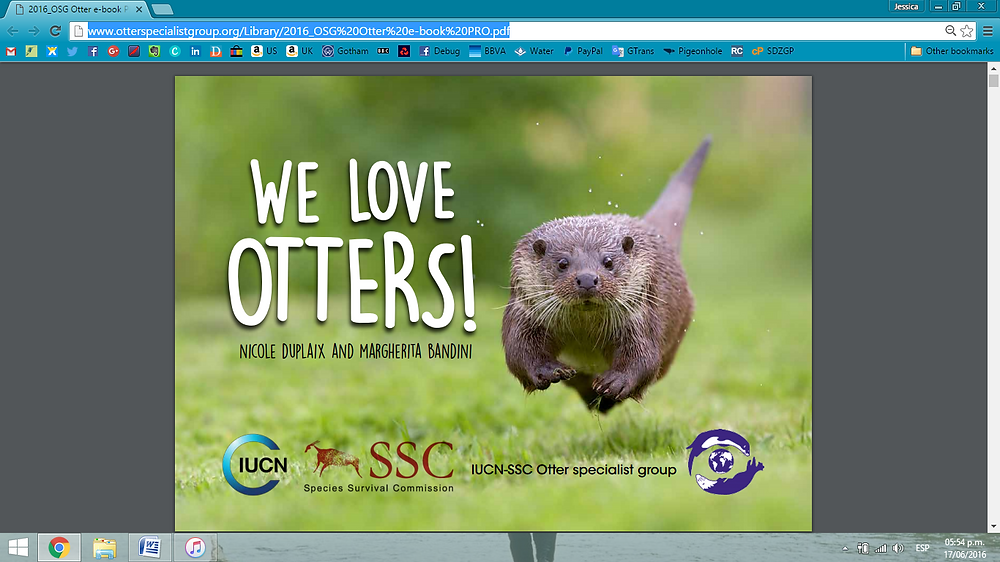 We Love Otters! by IUCN/SSC Otter Specialist Group