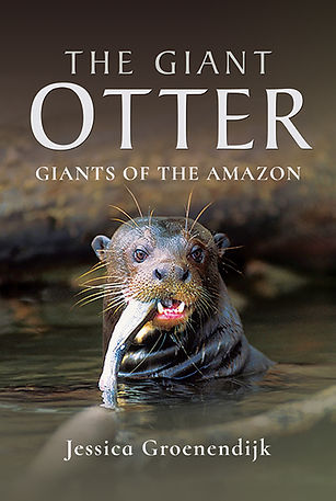 Jessica Groenendijk | Words from the Wild | Nature writing | Nature photos | Nature books | giant otters