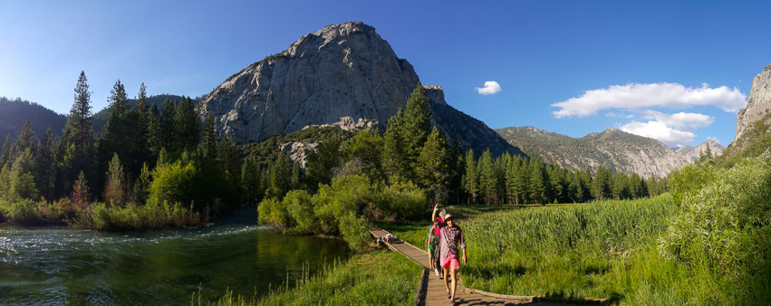 Zumwalt Meadow Trail, King's Canyon National Park. Photo: Jessica Groenendijk