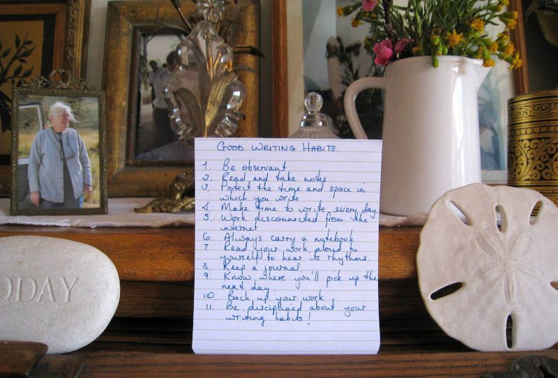 11 Good Writing Habits