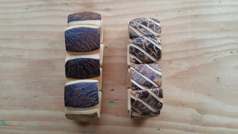 Vegetable ivory bracelets. Photo: Jessica Groenendijk, Words from the Wild