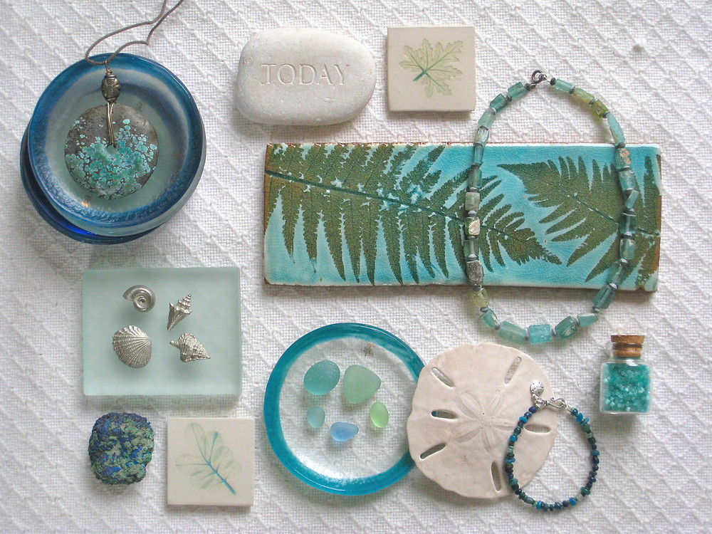 Aquamarine, sea foam, sea green, celadon, turquoise? Photo: Jessica Groenendijk