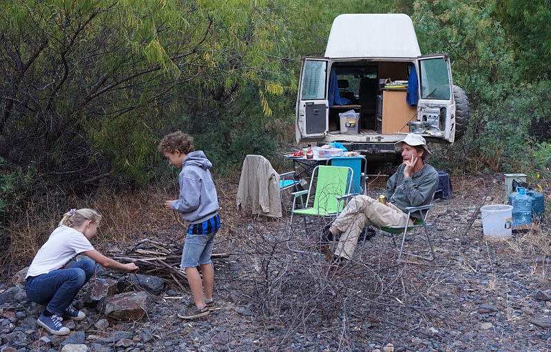 Camping with The White Rhino. Photo: Jessica Groenendijk