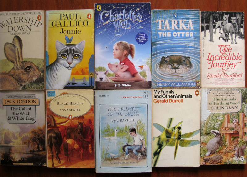 50 Books for Animal and Nature Loving Kids Aged 9 to 99
