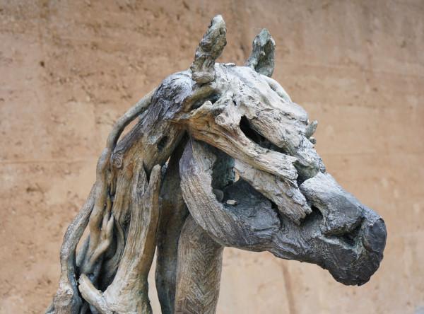Driftwood foal by Heather Jansch, Eden Project, UK. Photo: Jessica Groenendijk