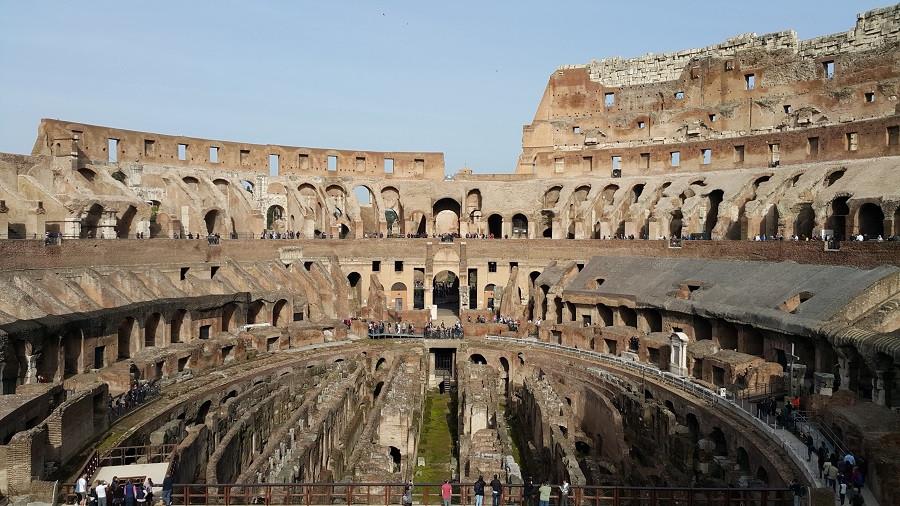 The Colosseum, Rome. Photo: www.jessicagroenendijk.com