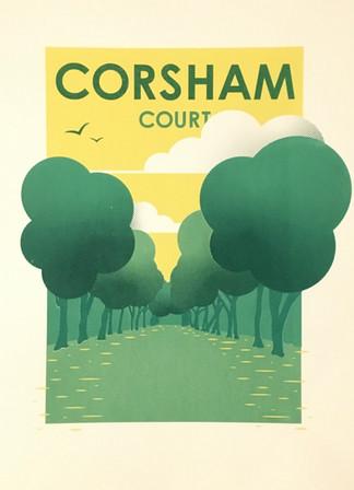 Corsham Court screen print