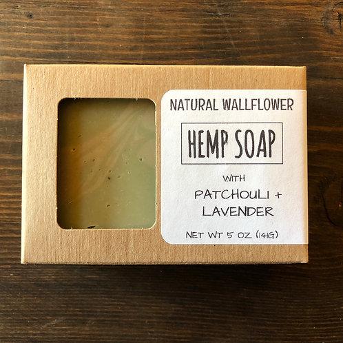 Hemp Soap, Patchouli & Lavender