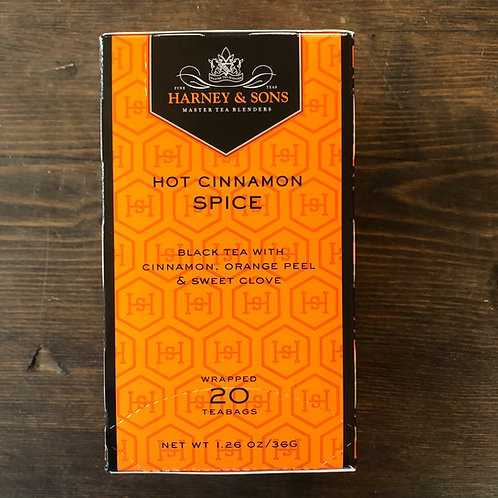 Tea Bags, Hot Cinnamon Spice - Harney&Sons