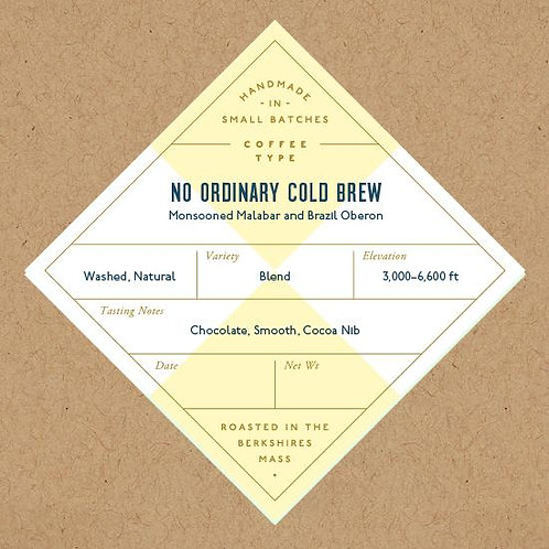 Coffee, No Ordinary Cold Brew
