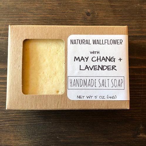 Salt Soap, May Chang & Lavender