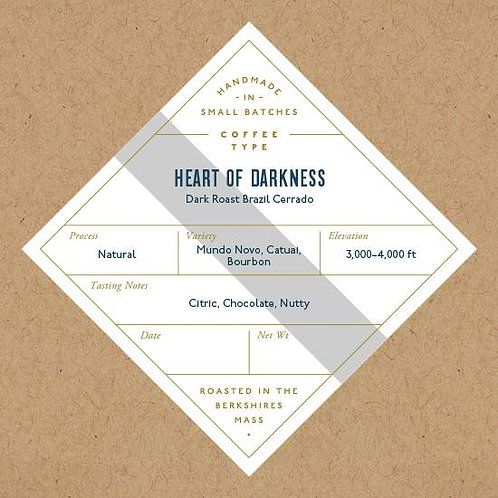 Coffee, Heart of Darkness - No. 6 Depot
