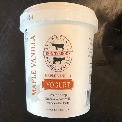Yogurt, Maple Vanilla - Ronnybrook