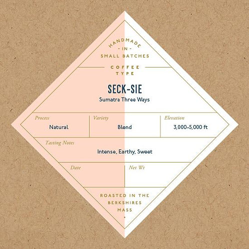 Coffee, Seck-Sie Sumatra