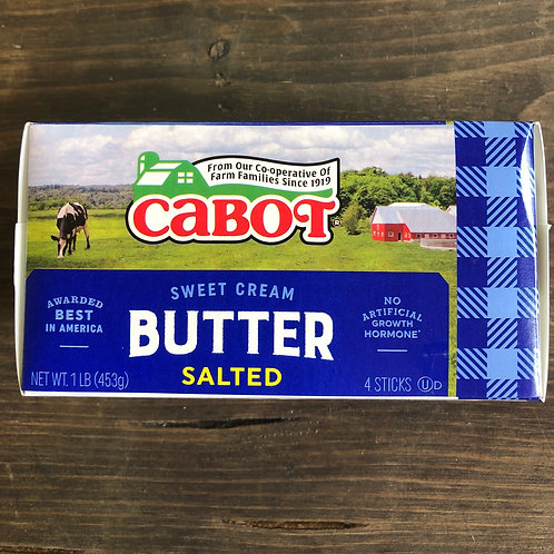 Salted Butter (Qtrs) - Cabot