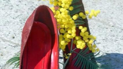 8 marzo giallo-rosso alla Scuola Secondaria San Vito