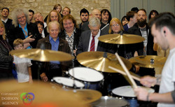 Chris Allan plays to musical legends
