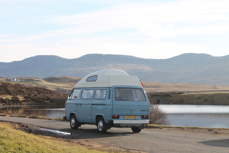 Campervan en Isle of Skye - Escocia