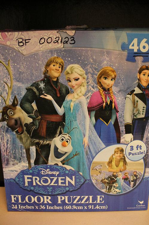 Frozen Floor Puzzle