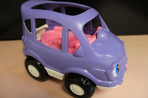 Little People Car Purple