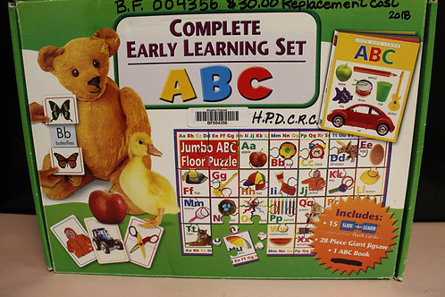 Complete Early Learning Set ABC