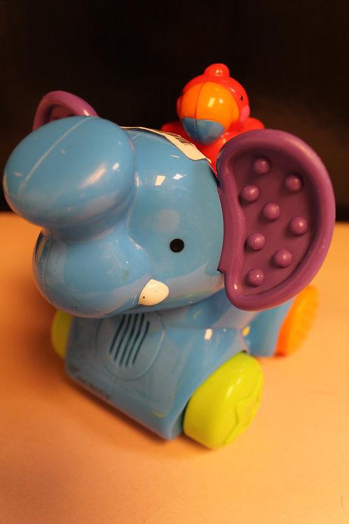 Elephant & Bird Push Toy