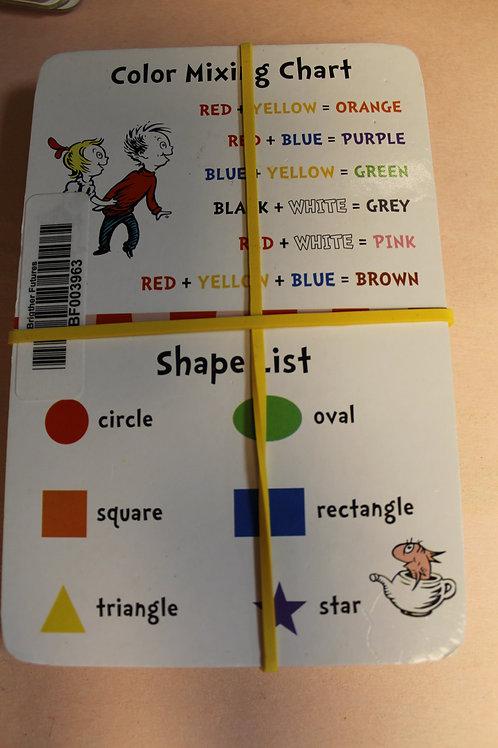 Flash Cards-Dr. Seuss -Colors