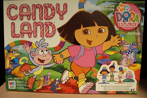 Game-Dora the Explorer Candyland