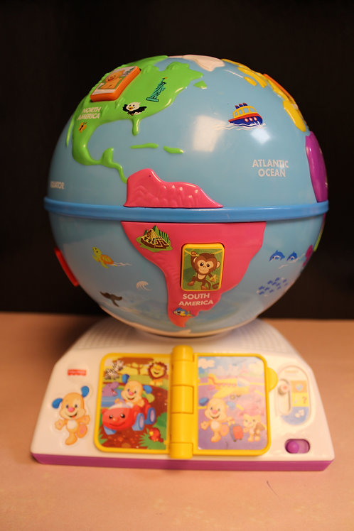 Laugh & Learn Greeting Globe