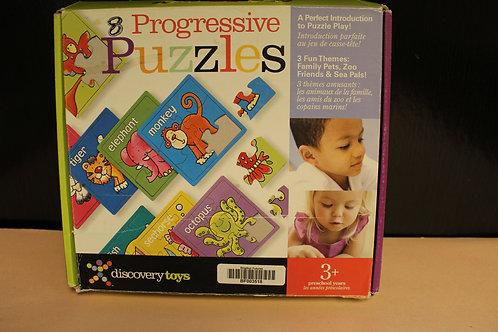 8 Progressive Puzzles