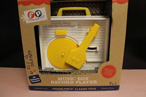 Music Box Record Player
