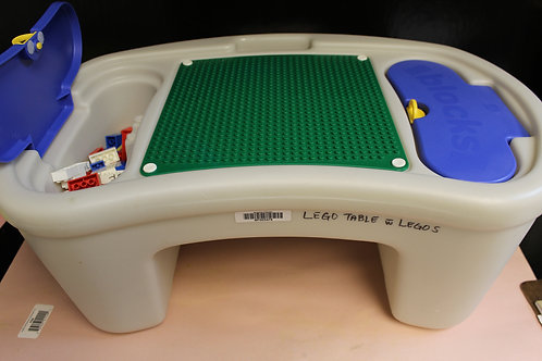 Lego Table with Lego