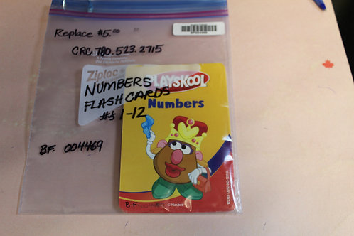 Flash Cards-Numbers-1-12