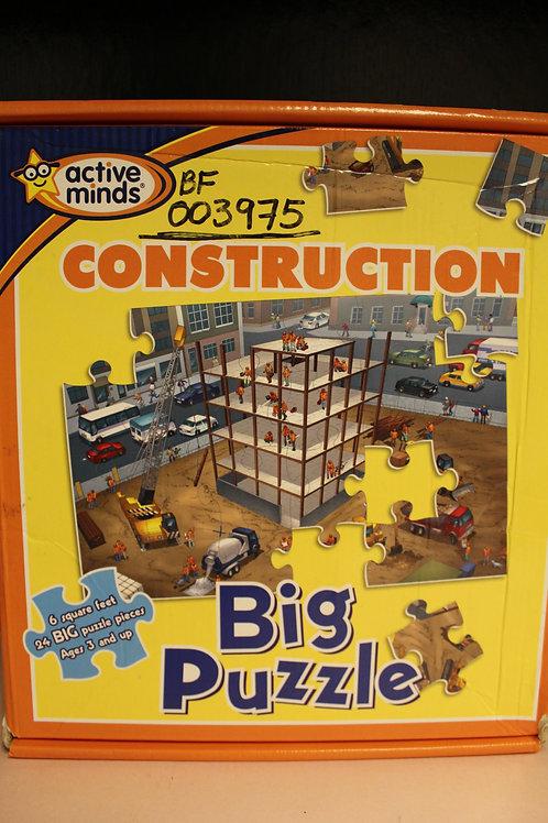 Construction Big Puzzle