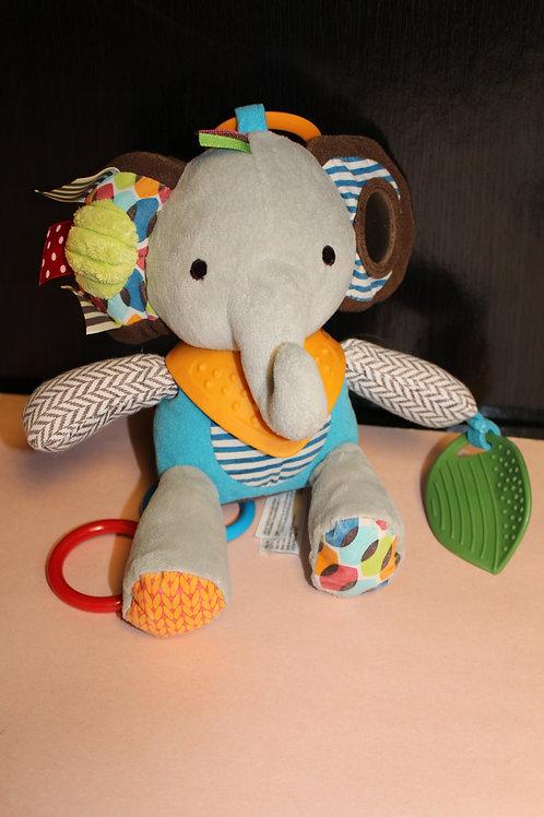 Elephant Plush Rattle