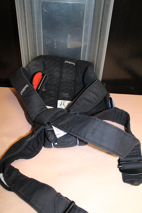 Baby Carrier-Straps on Adult-
