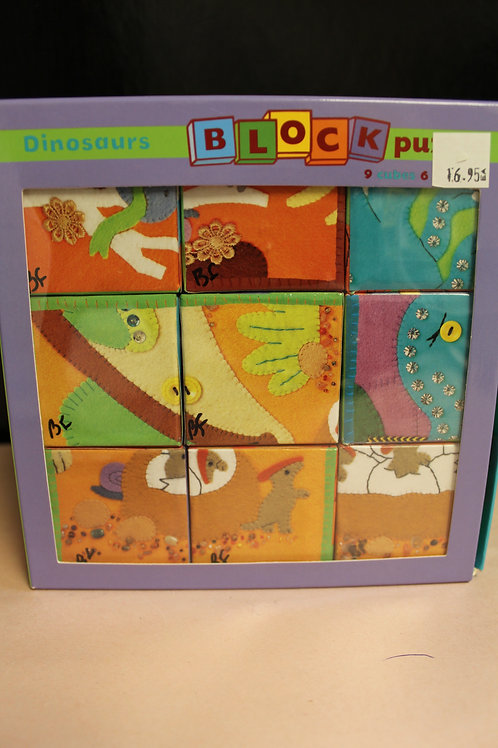 Dinosaurs Blocks Puzzle